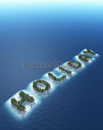 holiday island concept 3