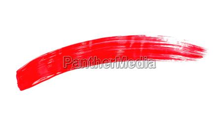 pincelada roja