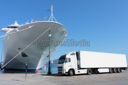 trafico navegacion puerto transporte puertos cruceros