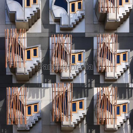ventana parlamento fachada estilo de construccion
