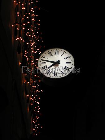 ojo de rana noche iluminado reloj