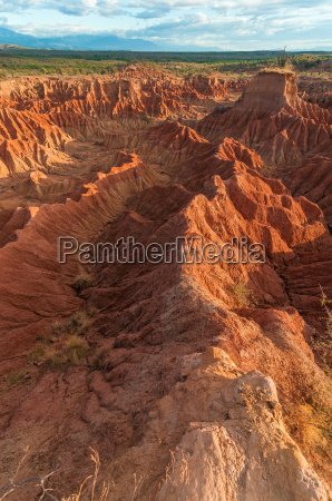 desierto seco colombia paisaje naturaleza marchitar