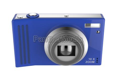 azul objeto liberado camara aislado fotografia