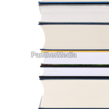 books on top of each other