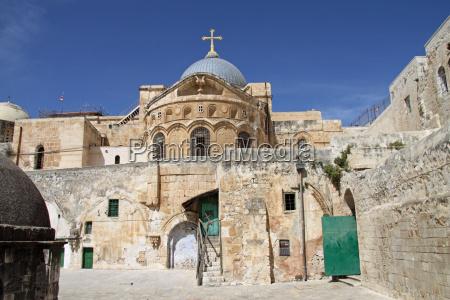 iglesia del santo sepulcro en jerusalen