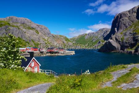 pueblo pesquero nusfjord