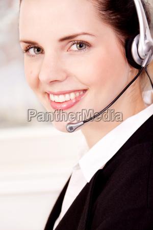 mujer oficina mujer de negocios representante