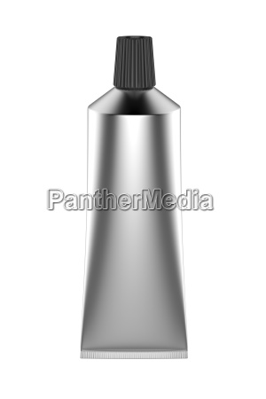 tubo plateado