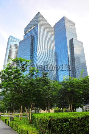 azul torre oficina hermoso bueno paseo
