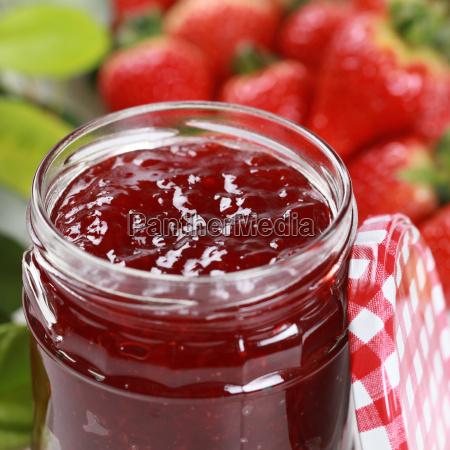 frutas fruta fresa mermelada fresas