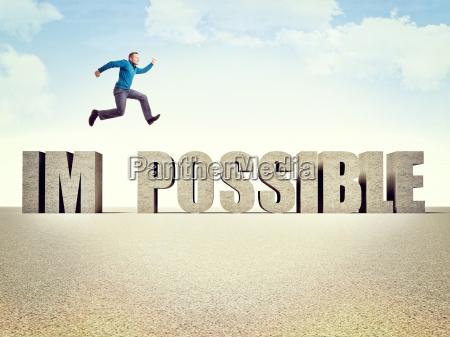 saltos saltar salto determinacion imposible exito