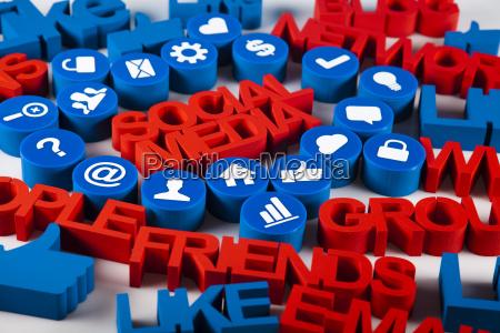 socialmente comunicacion ilustracion comunidad trafico de