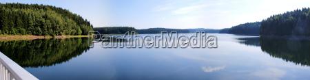la presa de saidenbach en los
