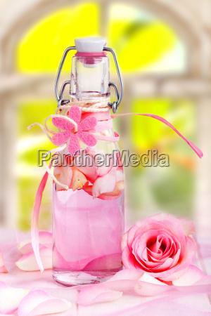 aceite de rosa para aroma fragancia