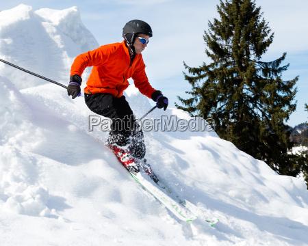 esquiadores carvender