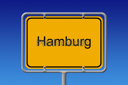 senyal de la ciudad hamburgo