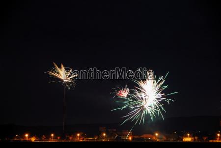 fuegos artificiales en feier