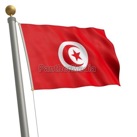 bandera de tunez