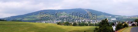 oberwiesenthal y fichtelberg de la republica