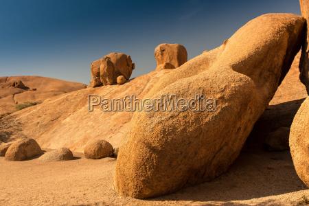 desierto africa namibia rocas rock piedras