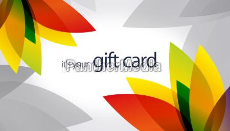 tarjetas de regalo splash