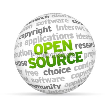 fuente abierta