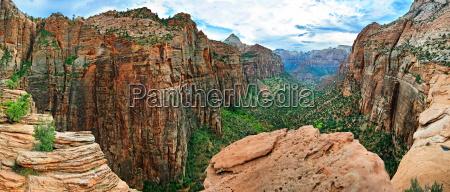 canyon overlook en zion national park