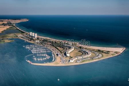 fehmarn south beach vista aerea