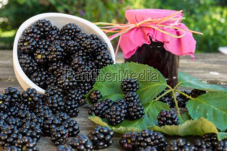 mermelada de blackberry