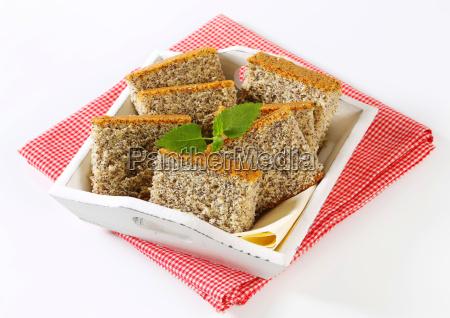 pastel, de, semillas, de, amapola - 9825474