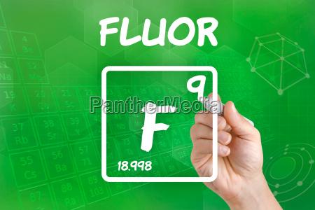 fluoro quimica elemento simbolo elemento quimico