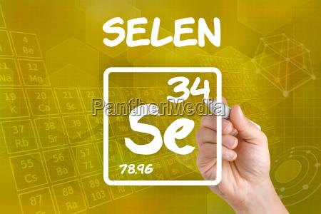 simbolo del elemento quimico selenias