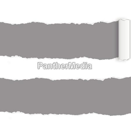 pagina rip papel rasgado