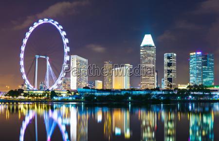 paisaje urbano de singapur