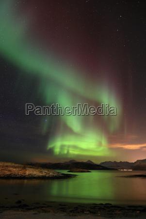 luces del norte noruega