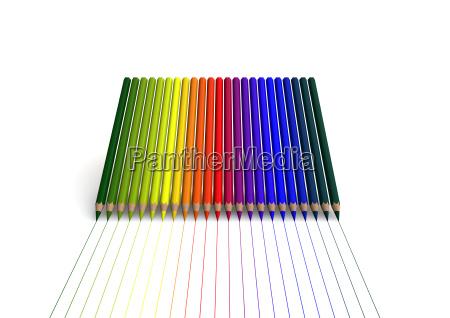educacion arte arco iris dibujo foto
