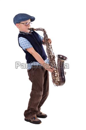 saxofon retro