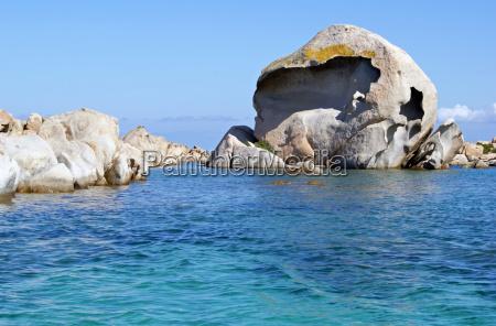 formacion rocosa en el isola giardinelli