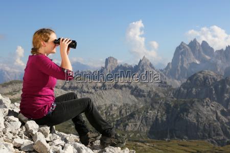 panorama de las montanyas disfrutar de