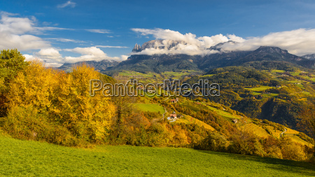 autumn impressions of south tyrol