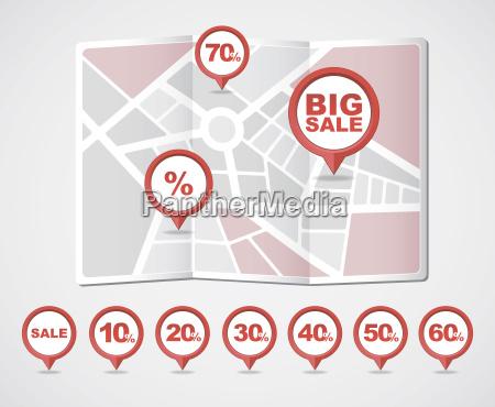 mapeo de pines iconos big venta