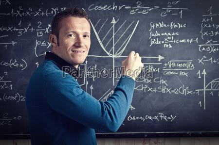 profesor, sonriente - 10233785