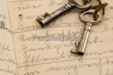 nostalgico antiguo clave suetterlin jahrgang