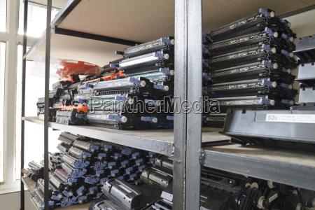 negro presion tecnologia laser cartucho equipo