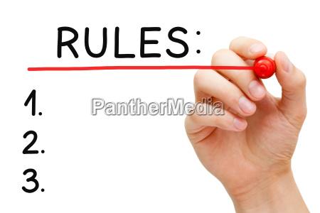 reglas de plastico roja