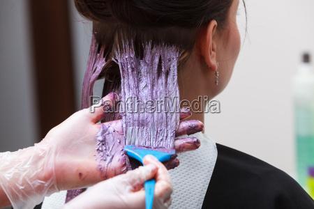 mujer estudio taller del artista estilista