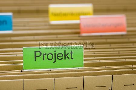 disenyo orden informacion expediente registro proyecto