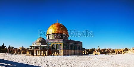 cupula de la roca en jerusalen