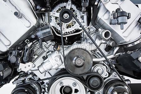 motor de coche motor potente