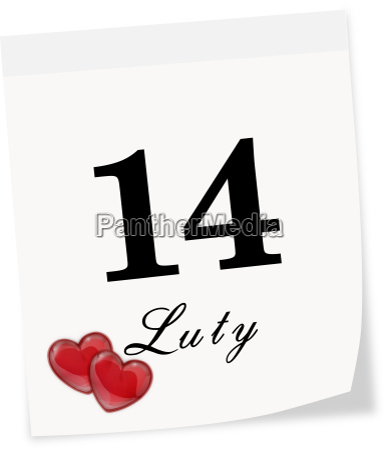international valentines day on february 14th